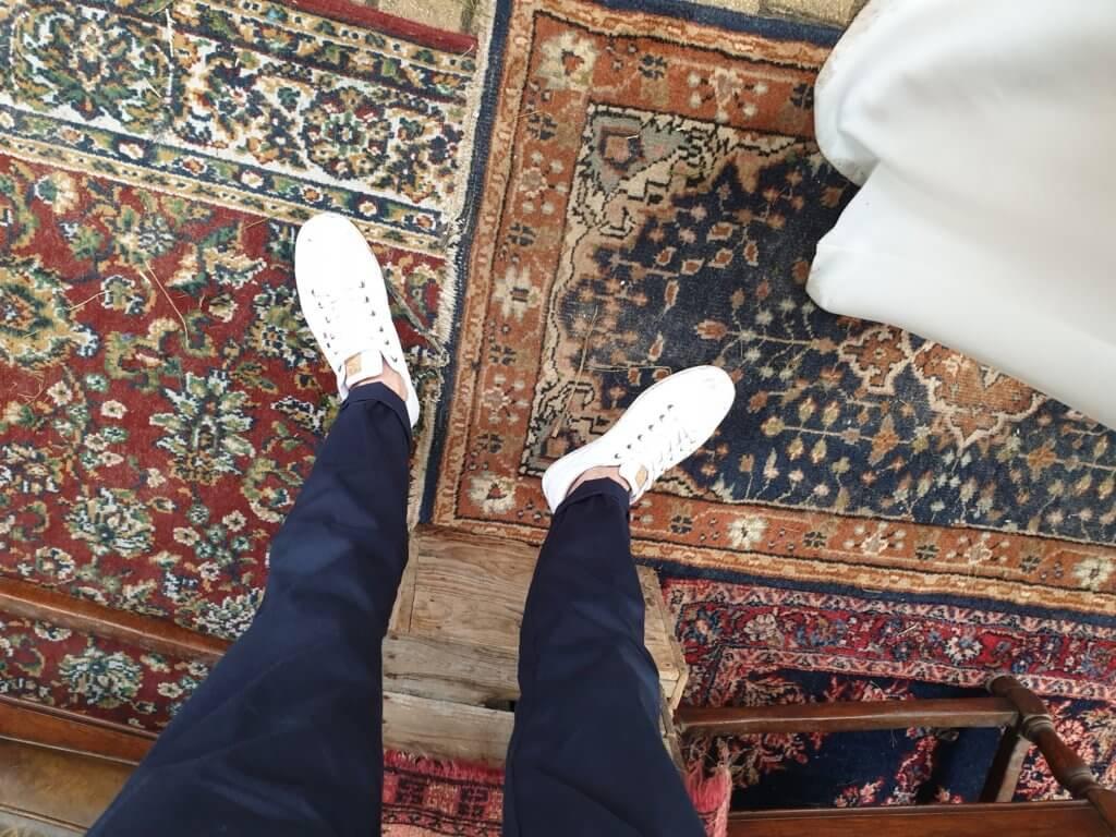 VINTAGE tapijten, kisten
